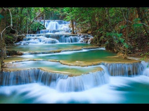 Music For Relax Image Wallpaper Pc Nature Waterfall Travel Forest Waterfall Waterfall Wallpaper Waterfall