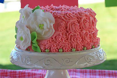 Fun red velvet birthday cake by Rachel@ alittlecuppatea.blogspot.com