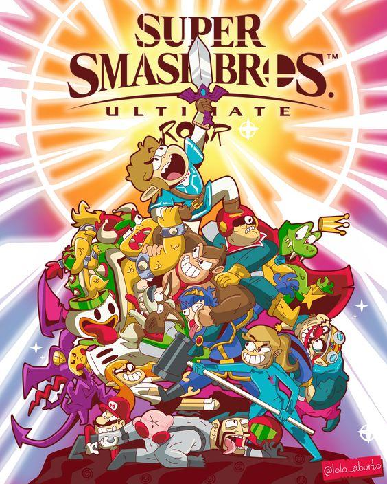 personajes de Super Smash Bros Ultimate