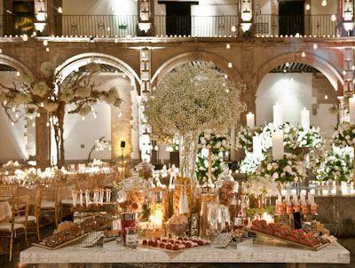 Mesa de postres para boda boda pinterest mesas and for Mesa de dulces para boda
