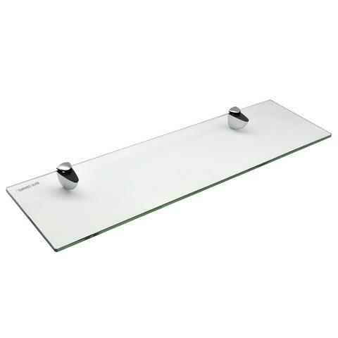 Harbour Housewares Glass Bathroom Shelf 50x14 5cm In 2020