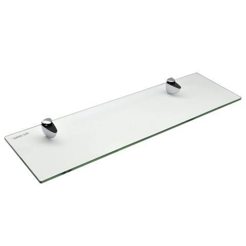 Harbour Housewares Glass Bathroom Shelf 50x14 5cm In 2020
