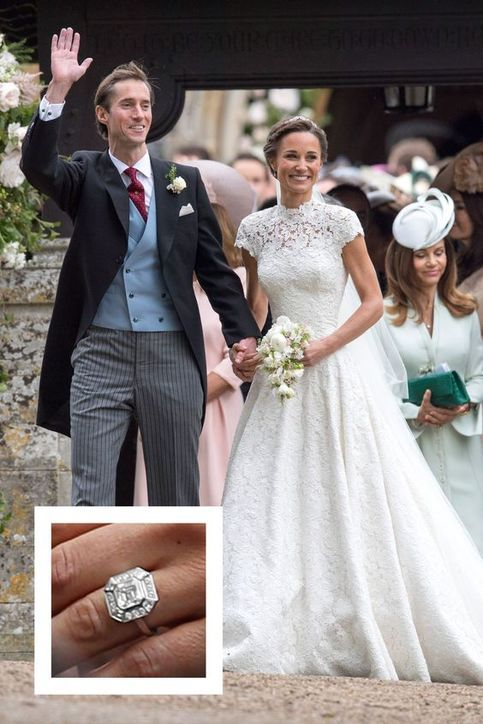 Half Sleeves Wedding Dress Lace Wedding Dress Long Bridal Dress