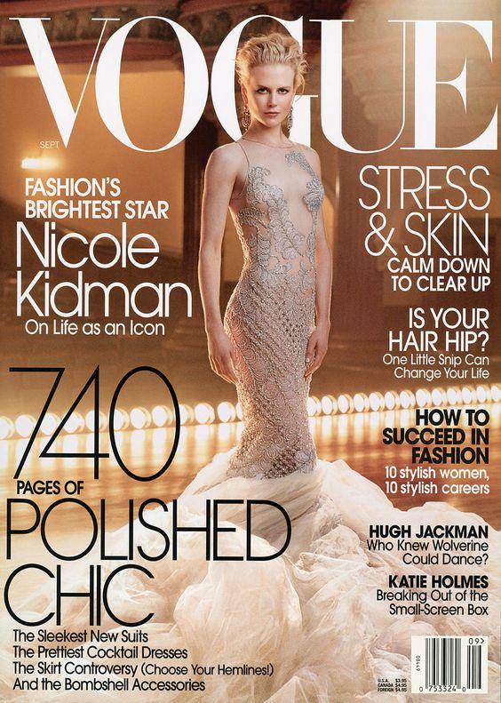 Nicole Kidman by Annie Leibovitz Vogue US September 2003