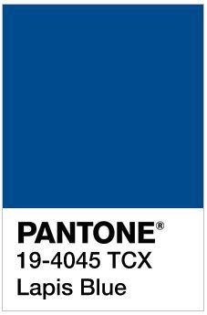 Pantone Lapis Blue: