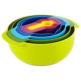 The Container Store > Nest™ 9 Plus Compact Food Preparation Set