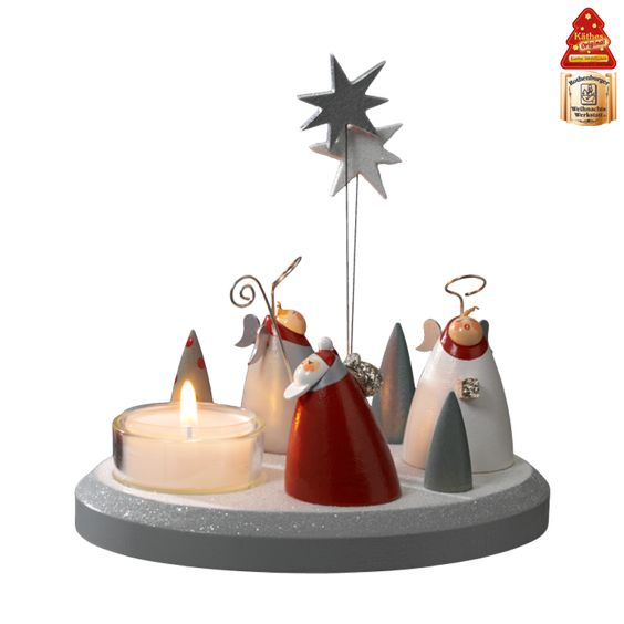 Käthe Wohlfahrt - Online Shop | Tealight holder Christmas choir | Rothenburg ob der Tauber