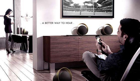 Bang & Olufsen A4 Speakers