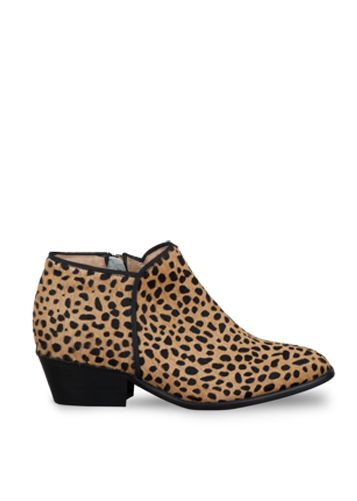 Cheetah Ankle Boots // DUO