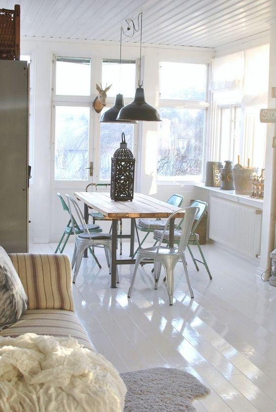 AMBIENTES CON LA SILLA TOLIX ... a qué quieres una? | Decorar tu casa es facilisimo.com: