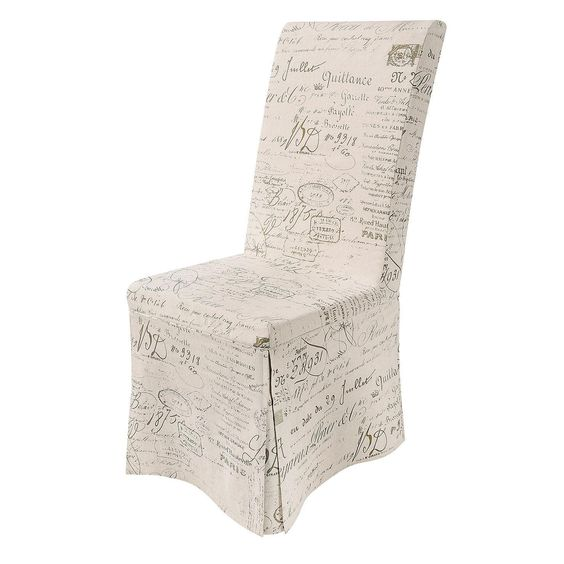 Calligraphy Loose Cover Chair