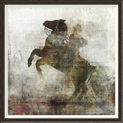 Global Gallery 'Esperanza I' by Kay Daichi Framed Graphic Art Size: