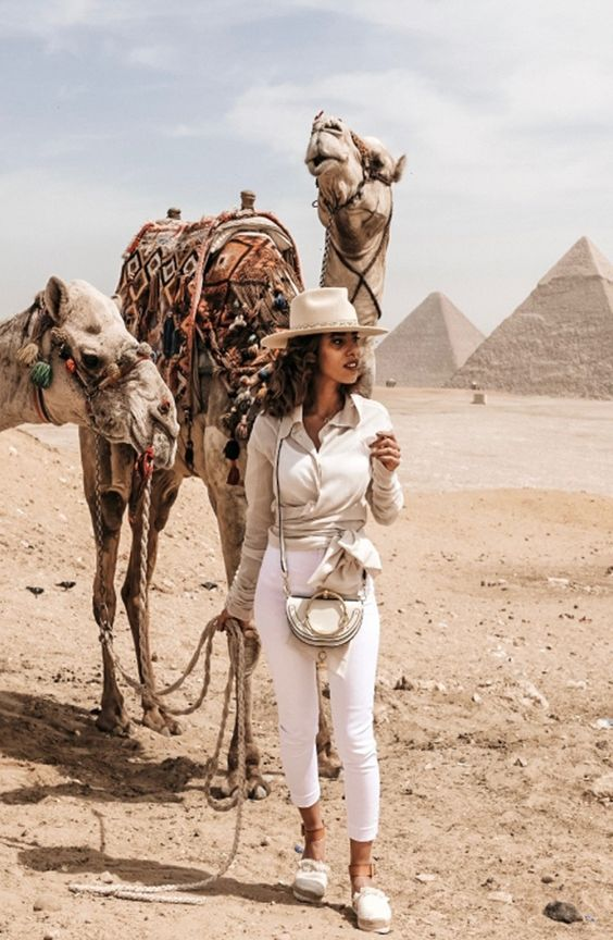 Enjoy your trip to the Great pyramids with your friends