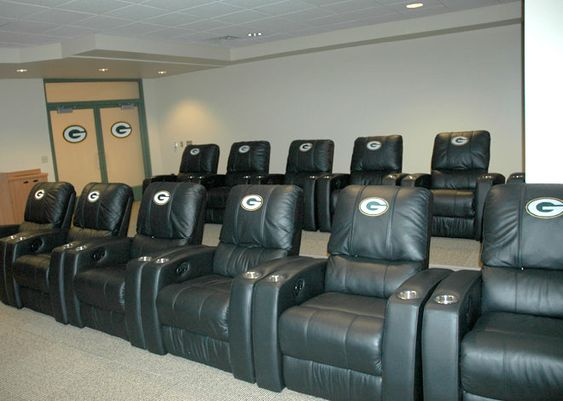 Green Bay Packers Man Cave Ideas Home Pinterest Chairs Caves And Lets Go