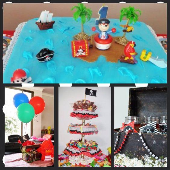 Fiesta pirata decoración hecha por Monart