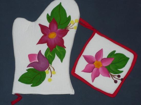 Fundas para electrodomesticos agarraderas servilletas - Pintura de cocina ...