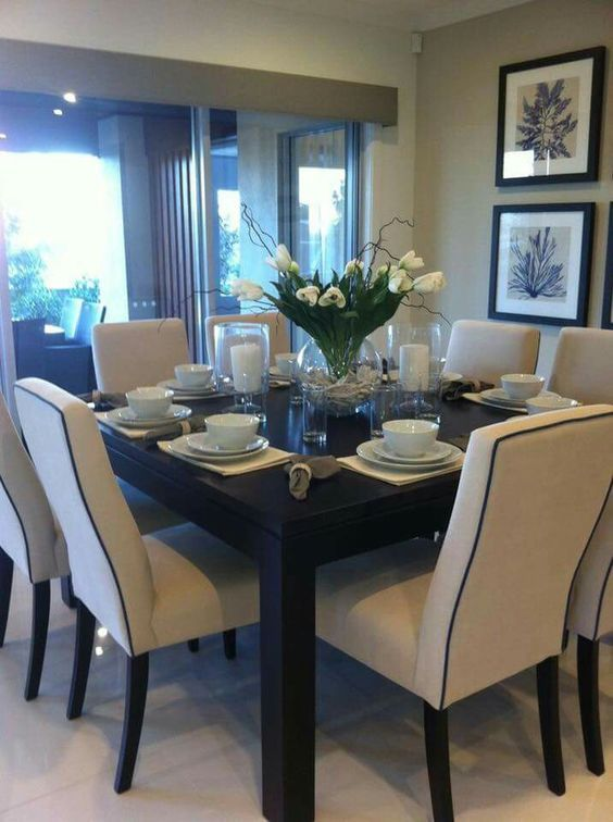 10 Splendid Square Dining Table Ideas For A Modern Dining Room Dinning Room Sets Square Dining Room Table Formal Dining Room Sets