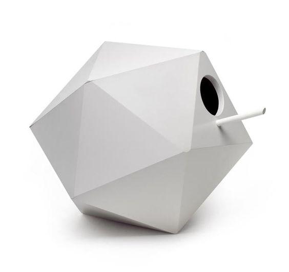 Polyhedron birdhouse