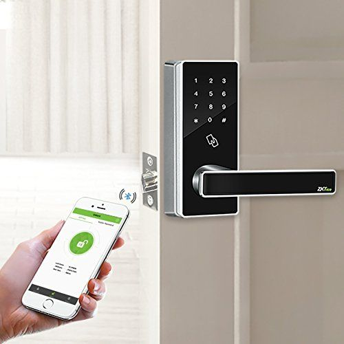 140 Zkteco Dl30b Bluetooth Locks Touchscreen Keyless Rfid Sma Smart Door Locks Bluetooth Lock Keyless Locks