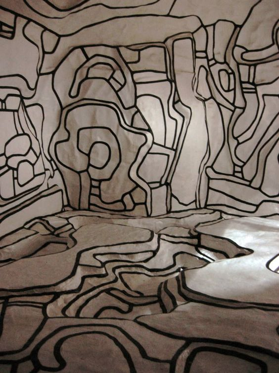 Jean Dubuffet, Le Jardin d'hiver. I climbed inside this at the Centre Pompidou!