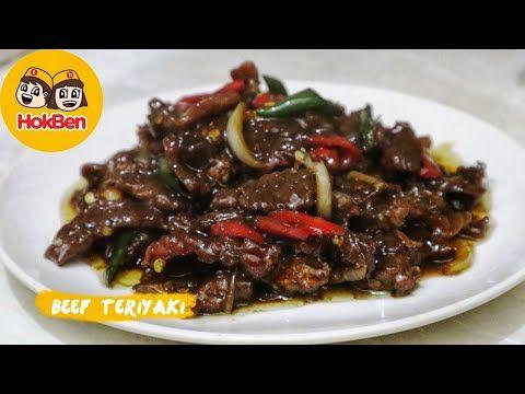 Resep Beef Teriyaki Ala Hokben Masakan Daging Sapi Terenak Youtube Resep Daging Sapi Resep Masakan Masakan