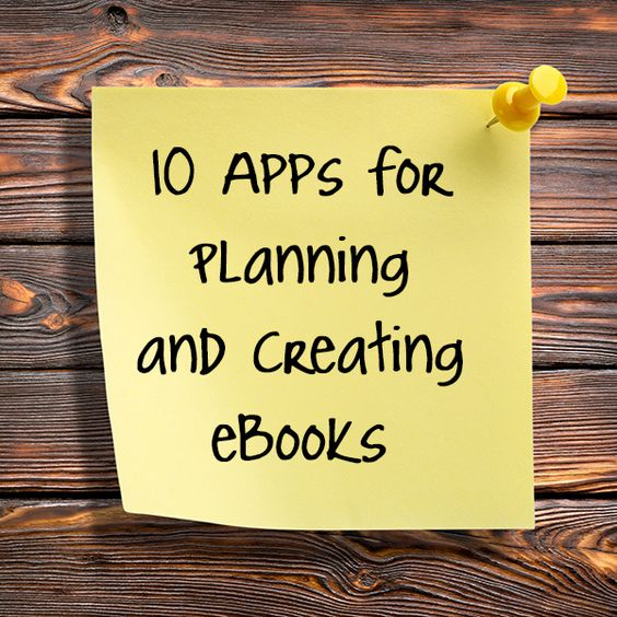 Thinking about creating an e-book? There are a number of great apps that can help you pull your thoughts and ideas together, and then design an awesome layout.