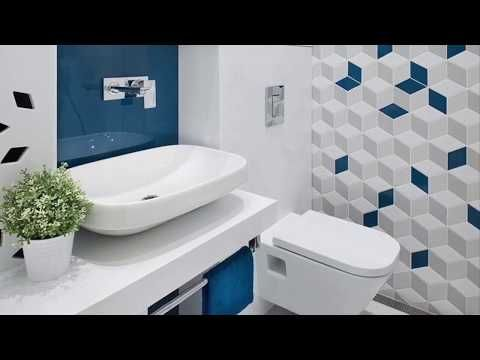 Beautiful Bathroom Floor And Wall Tiles Design Contrasting And Stylish Ideas See Description To Buy Youtube
