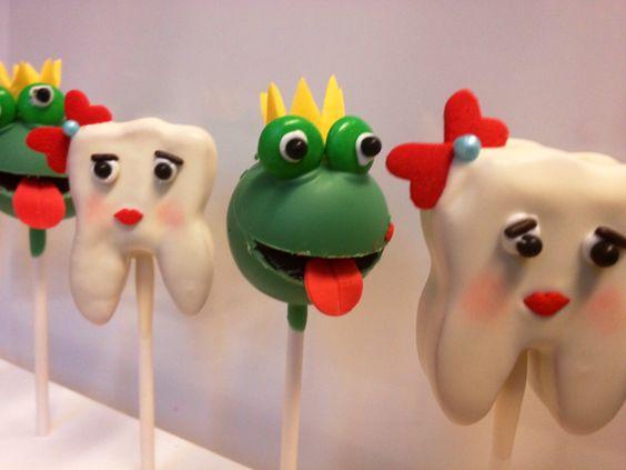 #Froschkönig und #Zahnfee #Cake Pops