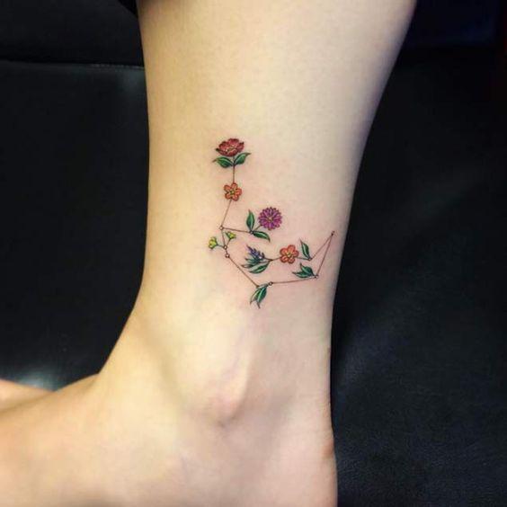 Tiny Flower Tattoos