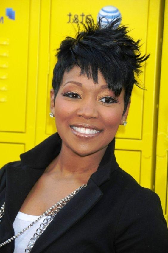 Astounding Short Spiky Hairstyles Hairstyles For Black Women And Black Women Hairstyles For Women Draintrainus