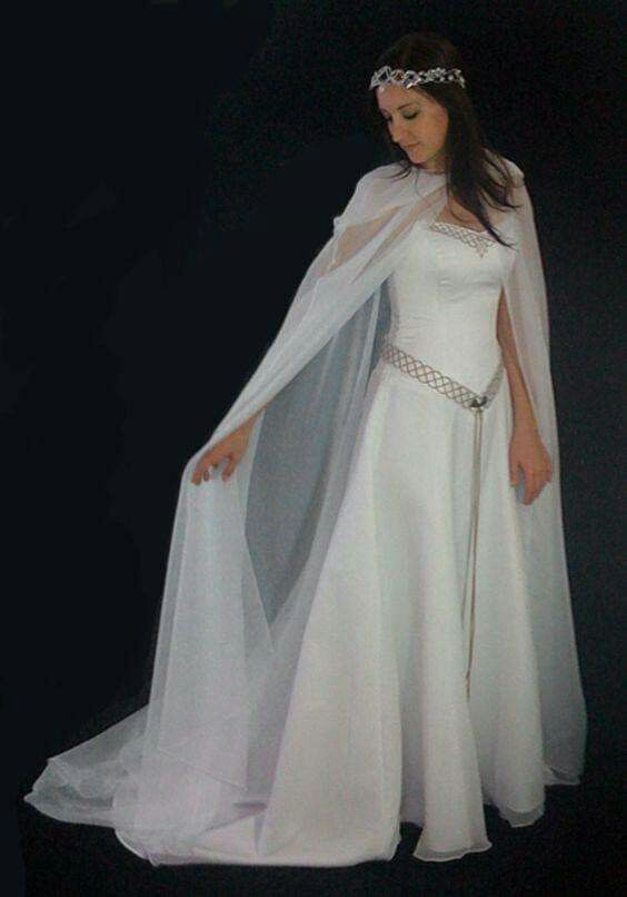 medieval wedding dress Dress inspired medieval Celtic dress made to order made to measure