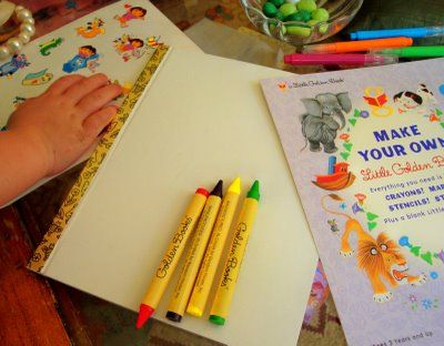 Make Your Own Little Golden Book kits