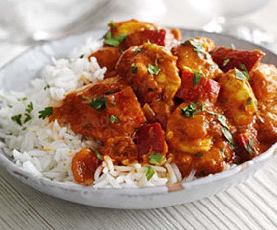 Chicken pieces in a creamy, richly spiced curry sauce, with onion, garlic, tomato, and fresh cilantro For non-meat eaters - vegetables, tofu or plant protein can be substituted in most recipes. Adjust