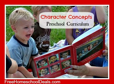 Homeschool Review: Character Concepts for Preschoolers Curriculum + Giveaway!