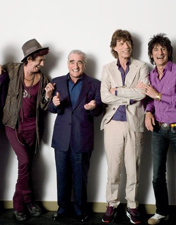 Scorsese shines a light on the Stones