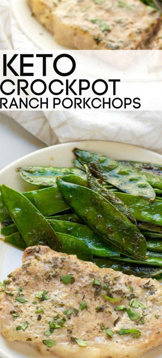 Butter Ranch Crockpot Pork Chops