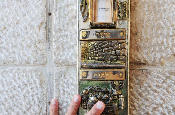 Mezuzah is the Hebrew word for doorframe. It is also the name of the little…