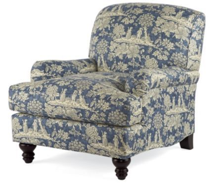 Normandy Chair, Blue