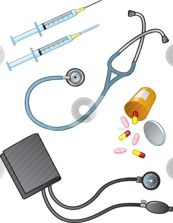 printable of medical supplies | Medical Supplies stock ...