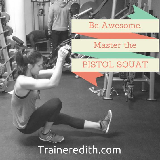 Wanna learn to finally master the pistol squat? Here are the progressions I followed.