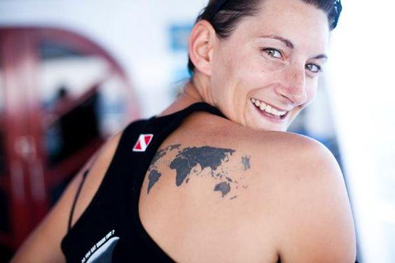tattoo world map