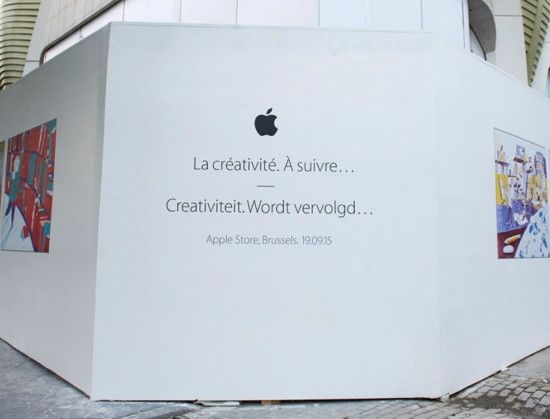 Apple Store: Belgiens erster Store öffnet noch diesen Monat - apple_store_bruessel #iphone #apple