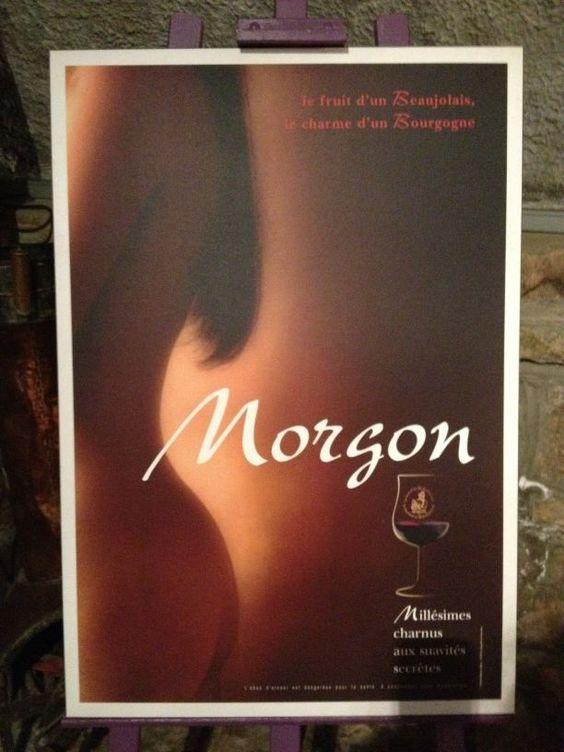 Cheeky (ha!) advertising from Beaujolais!