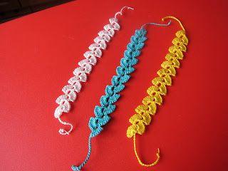 Braccialetti all'uncinetto: Work To Crochet, Jewellery, Jersey, My Works