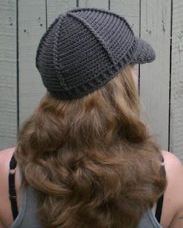 crochet cap with bill free pattern Knit/Crochet ...