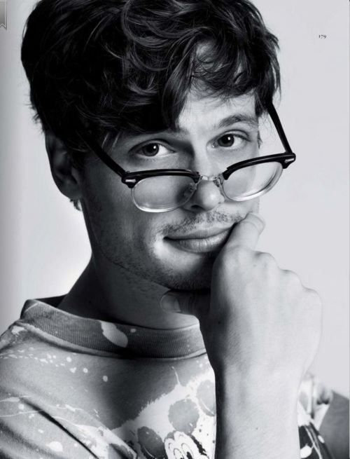 matthew gray gubler. Not a hello;) but look how adorable he is. Great actor so he goes under this category