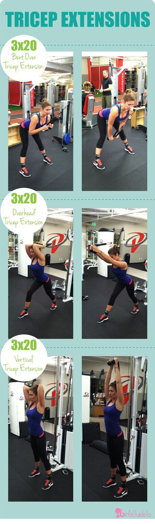 GirlsGuideTo | Workout Wednesday: Tighten Up With These 5 Cable Machine Exercise