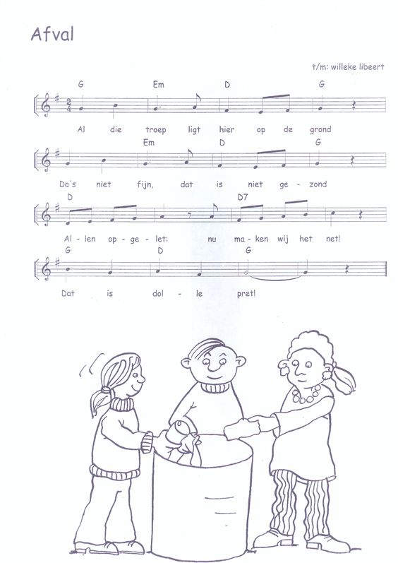 liedje afval liedjes