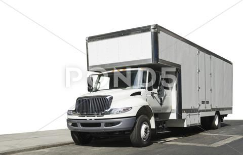 Delivery Truck Moving Van Premium Stock Photo 11660994 Moving