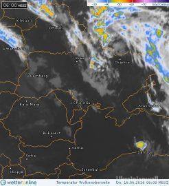Температура починає рости вже сьогодні — синоптик http://ukrainianwall.com/blogosfera/temperatura-pochinaye-rosti-vzhe-sogodni-sinoptik/  В Україні дощів меншатиме, тепла більшатиме. Із сьогодні.   На заході вже ясний ранок, хіба що туманчики красиві плавають де-не-де. На решіт території ясного неба також вистачає, але протягом дня